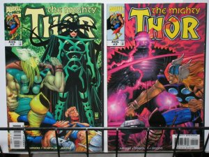 THOR (1998) 2 (BOTH COVERS)