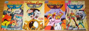 Alter Ego #1-4 FN/VF complete series ROY THOMAS ron harris 1986 FIRST COMICS 2 3
