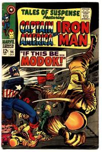 TALES OF SUSPENSE #94 comic book 1967-FIRST MODOK-CAPTAIN AMERICA fn/vf