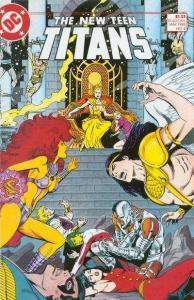 New Teen Titans (1984 series) #8, NM (Stock photo)
