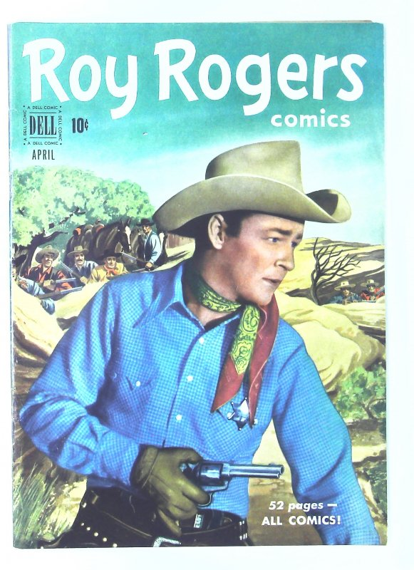 Roy Rogers Comics (1948 series) #40, VF- (Actual scan)