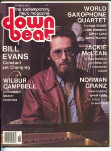 Down Beat 10/1979-Bill Evans-Wilbur Campbell-pix-music history-VG