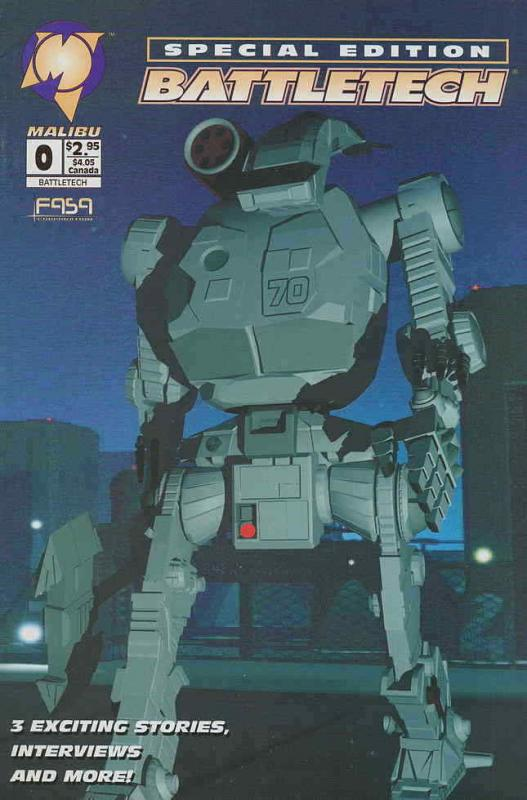BattleTech #0 VF/NM; Malibu | save on shipping - details inside