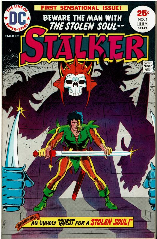 Stalker #1, 9.0 or better, Nice Copy
