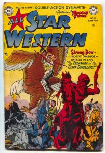 All Star Western #59 1951-Trigger Twins-Johnny Thunder-Strong Bow VG-