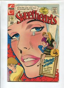 SWEETHEARTS #134 1973-CHARLTON-VF