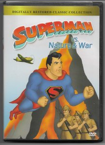 Superman vs. Nature & War/Monsters & Villains (complete Fleischer set of 2 DVDs)