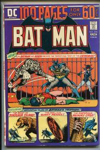 BATMAN  #256 1974-DC-CATWOMAN-GIANT 100 PAGE ISSUE-fn