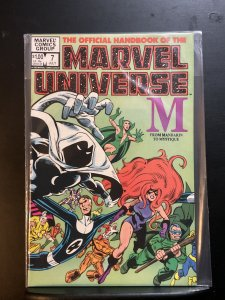 The Official Handbook of the Marvel Universe #7 (1983)