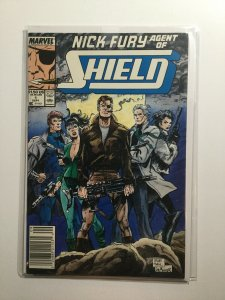 Nick Fury Agent Of Shield 1 2 Near Mint Nm Marvel