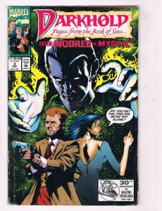 Darkhold (1992) #3 Marvel Comic Book Sabertooth Scarlet Witch HH3