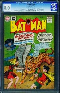 Batman #144 CGC 8.0 Joker 1961-DC-Bat-Girl issue-1172865006