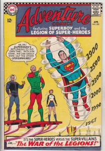 Adventure Comics #355 (Apr-67) NM- High-Grade The Adult Legion of Super-Heroe...