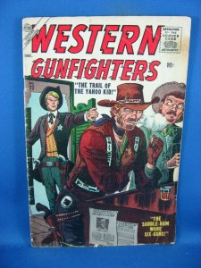 WESTERN GUNFIGHTERS 23 VG+ 1956 ATLAS