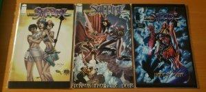 Saffire 1-3 Complete Set Run! ~ NEAR MINT NM ~ 2000 Image Comics