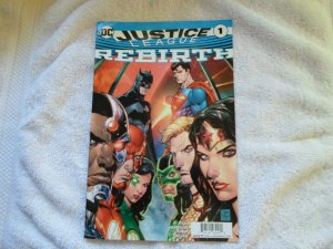 DC COMICS JUSTICE LEAGUE REBIRTH # 1