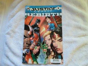 DC COMICS JUSTICE LEAGUE REBIRTH # 1