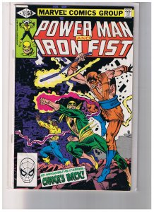 Power Man And Iron Fist 3 Issues Avg. F/VF   #'s 72,76,79B