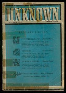UNKNOWN DEC 1940-L RON HUBBARD-TYPEWRITER IN SKY-PULP G