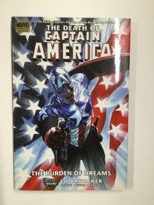 Captain America: The Death Of Captain America Burden of dreams Tpb Hc Nm Marvel