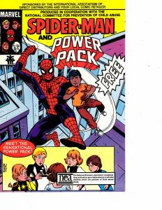 Lot Of 2 Marvel Comic Books Spider-Man & Power Pack and Spider-Man #2  ON6