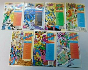 Who's Who Directory + Updates Comic Lot 28 Different Average 8.5 VF+ (1985-88)