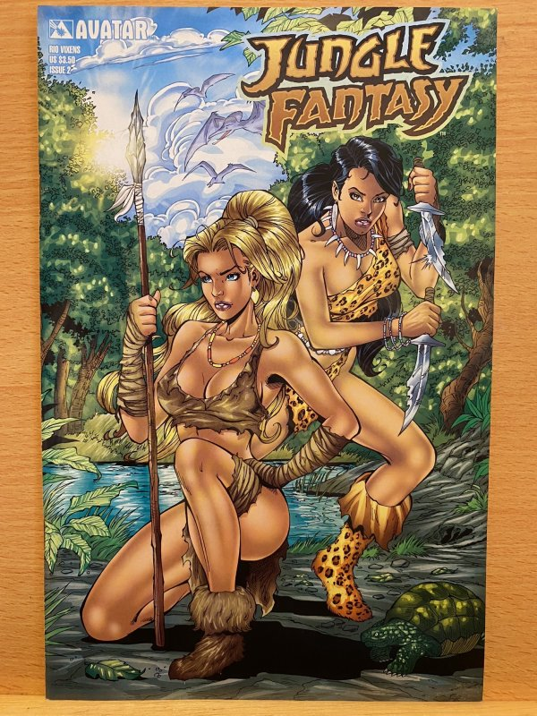 Jungle Fantasy #2 (2003) Avatar. Adults Only.