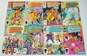 Squadron Supreme #1-12 VF/NM complete series - mark gruenwald - marvel comics