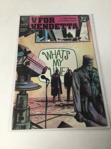 V For Vendetta 5 Nm Near Mint DC Comics