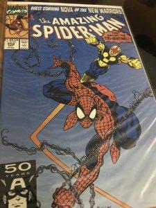 The Amazing Spider-Man #352 Mint Feat Nova