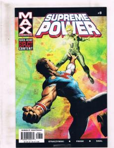 Lot Of 9 Supreme Power Marvel MAX Comic Books # 8 9 11 12 13 16 17 18 N-Hawk RC6