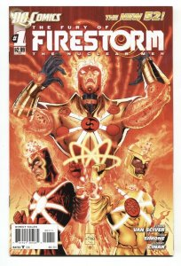 FURY OF FIRESTORM #1 First appearance of FURY-New 52 DC-NM-