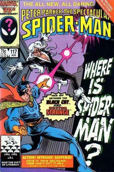 Spectacular Spider-Man (1976 series) #117, VF+ (Stock photo)