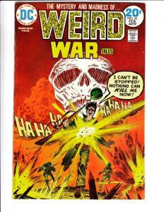 Weird War Tales #22 (Feb-74) FN/VF+ Mid-High-Grade