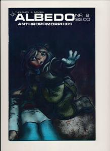ALBEDO #8  Anthropomorphics Thoughts & Images ~ VF 1986 (PF543)