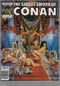 Savage Sword of Conan #112 (Marvel, 1985)