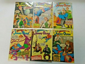 Silver Age Jimmy Olsen Comic Lot 12¢ Covers #90-120 13 Diff Avg 4.0 VG (1966-69)