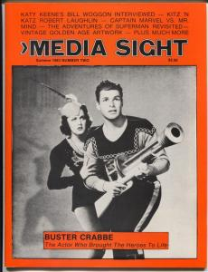 Media Sight #2 1983-Buster Crabbe-Superman-WC Fields-Buck Rogers-VF