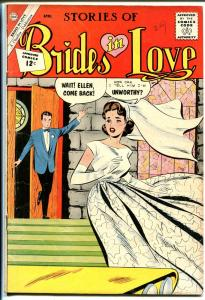 Brides in Love #29 1962-terrific art-spicy poses-bride cover-VG