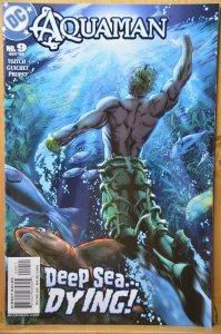 Aquaman #9 (2003) Deep Sea Dying!