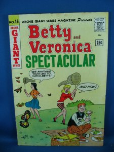 ARCHIE BETTY AND VERONICA SPECTACULAR 16 VG+ 1962