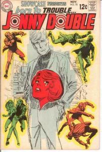 SHOWCASE 78 VF+ JOHNNY DOUBLE   November 1968 COMICS BOOK