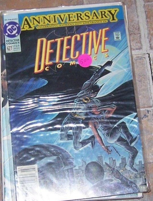 Detective Comics #627 (Mar 1991, DC) BATMAN  600TH ANNIVERSARY ISSUE