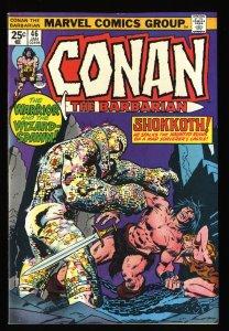 Conan The Barbarian #46 VF 8.0 Marvel Comics