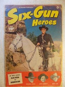 Six-Gun Heroes #3 (1950)