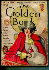 Golden Book  1/1928-Charles Dickens-King of The Jungle-VG