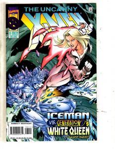 10 Uncanny X-Men Marvel Comic Books #331 332 333 334 335 336 337 338 339 340 MF2