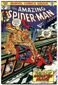 AMAZING SPIDER-MAN #133-MARVEL COMICS-MOLTEN MAN-vf/nm
