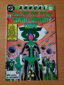 Tales of the Green Lantern Corps Annual #3 ~ FINE VERY FINE VF ~ 1987 DC Comics