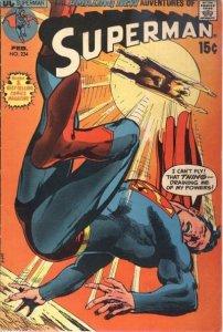 Superman #234 (ungraded) stock photo / 002